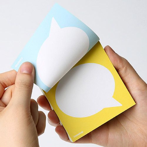 http://www.fallindesign.com/chachap-text-balloon-message-double-sided-memo-pad/