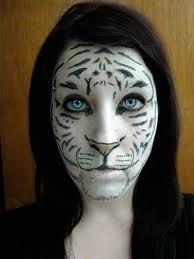 Tiger Makeup on Pinterest | Animal Makeup, Cheetah Makeup and ...