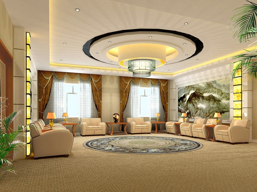 Home Interior Pop Ceiling Photos Luxury Modern POP Ceiling