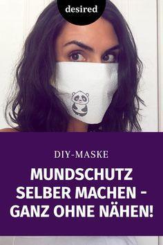 Photo of Machen Sie sich selbst einen Mundschutz, ohne zu nähen – Schritt für Schritt | erwünscht.de