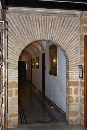 Arco con ladrillos r sticos fachadas pinterest - Arcos de ladrillo rustico ...