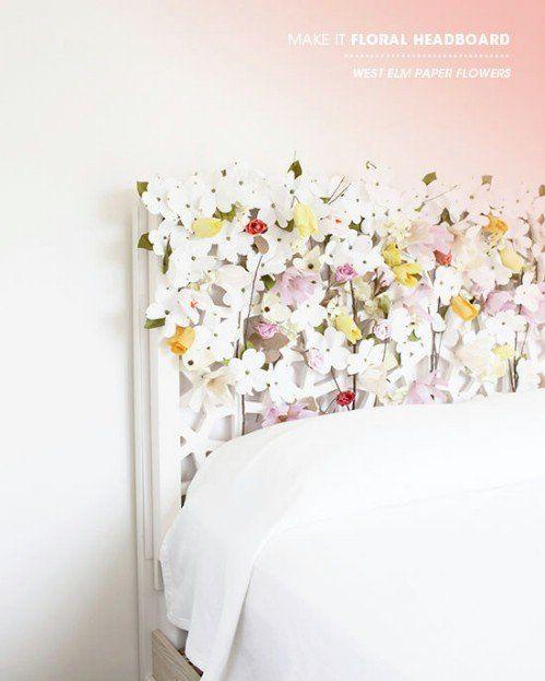 14 Dreamy Diy Headboard Ideas: 40 Dreamy DIY Headboards You Can Make By Bedtime