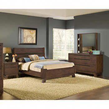 Woodrow Road 5-piece Queen Bedroom Set #bedroomfurnituresetsking