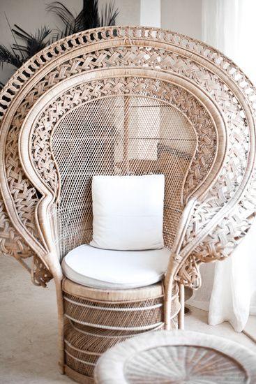 peacock chair Wishlist Pinterest Chaises, Idee deco interieur