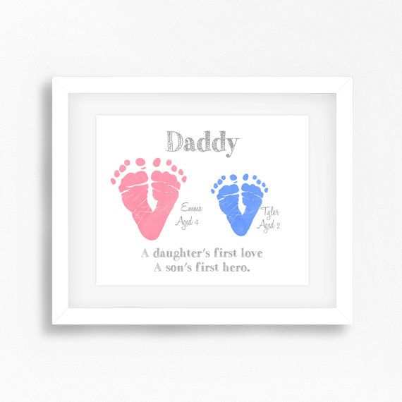 Gift For Dad From Children Personalised By PerfectLittlePrints