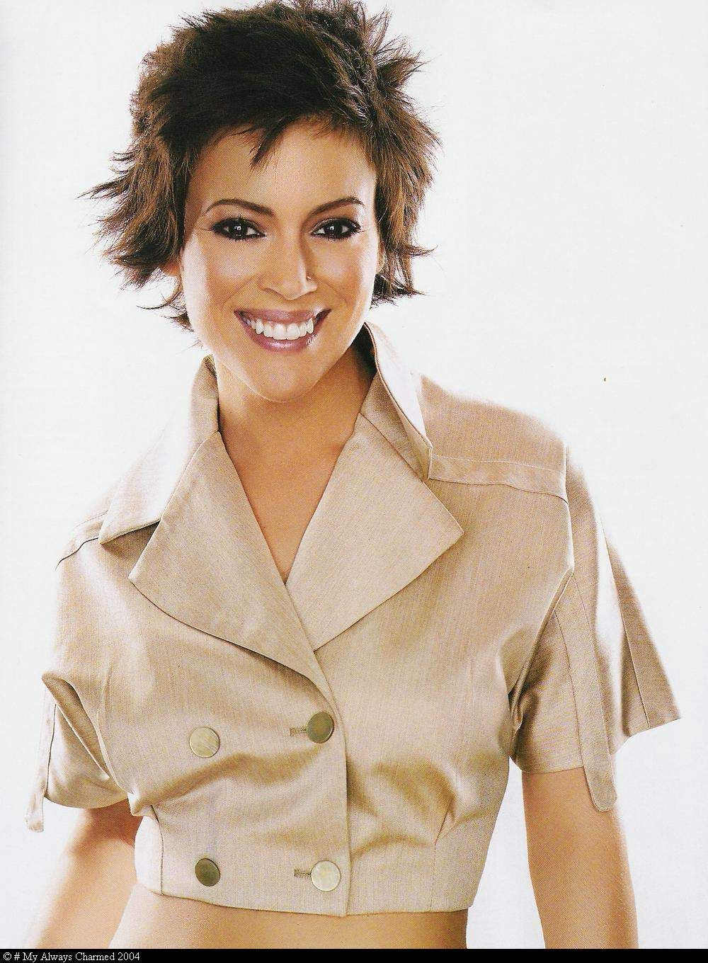 Alyssa Milano Alyssa Milano Haircut Alyssa Milano Young