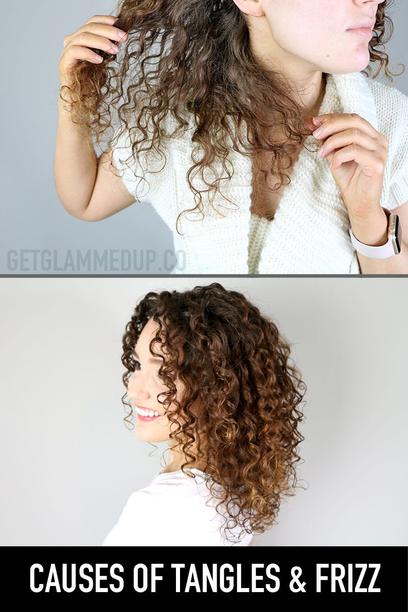 Causes Of Tangles Frizz In Curly Hair Watch Now Https Youtu
