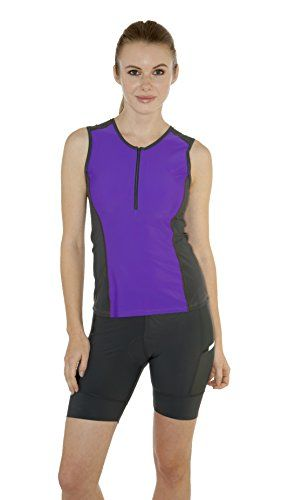 MooMotion Womens Tri Top Pink