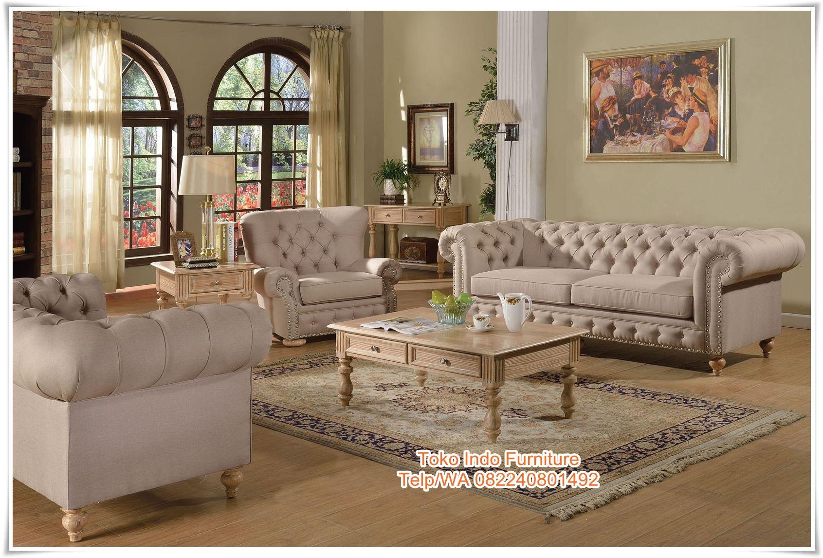 Kursi Sofa Empuk Ruang Tamu Http Www Tokoindofurniture Com Kursi Sofa Empuk Ruang Tamu Html Formal Living Room Sets Living Room Sets Luxury Living Room Living room piece sets