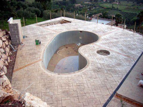 Calcestruzzo Stampato Palermo : Immagine pavimenti in cemento stampato cemento stampato