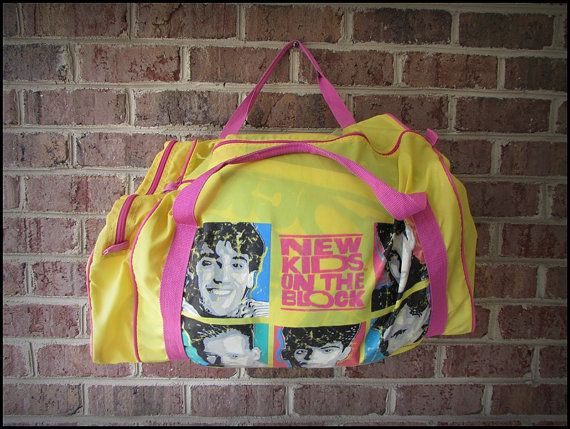 Vintage 90 s NKOTB New Kids On the Block Sleeping Bag and Duffle by  RackRaidersVintage 21921e2f3642e