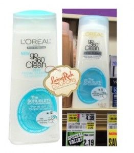 ShopRite: FREE L'Oreal Go 360 Clean Cleanser after special value pricing and printable coupon!