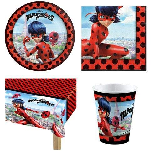 Miraculous Ladybug Party Pack 8 Guest Pack Amazon Com Grocery Gourmet Food Miraculous Ladybug Party Ladybug Party Miraculous Ladybug Party Supplies