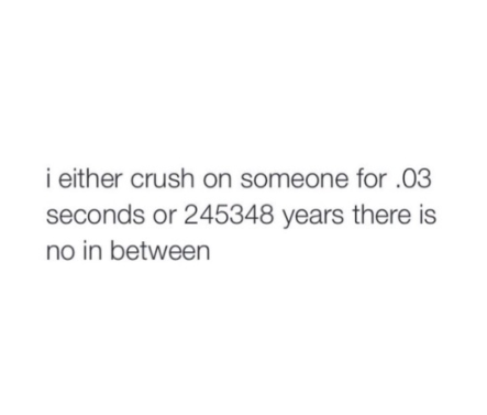 Like, at all. | 21 Hilarious Tumblr Posts That Perfectly Describe The Agony Of Having A Crush