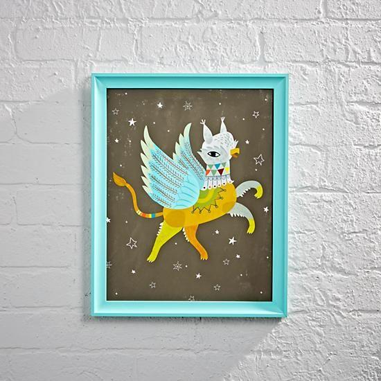 Griffin Framed Wall Art   Pinterest   Framed wall art, Walls and ...