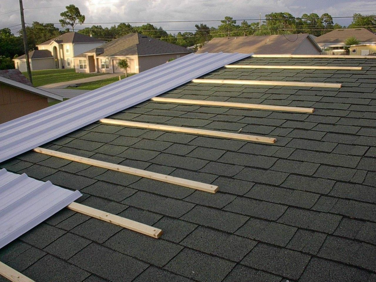 Can You Install A Metal Roof Over Shingles Absolutely Call And Ask Us How 5738034700 Metalroof Metal Roof Over Shingles Metal Roof Metal Roof Installation