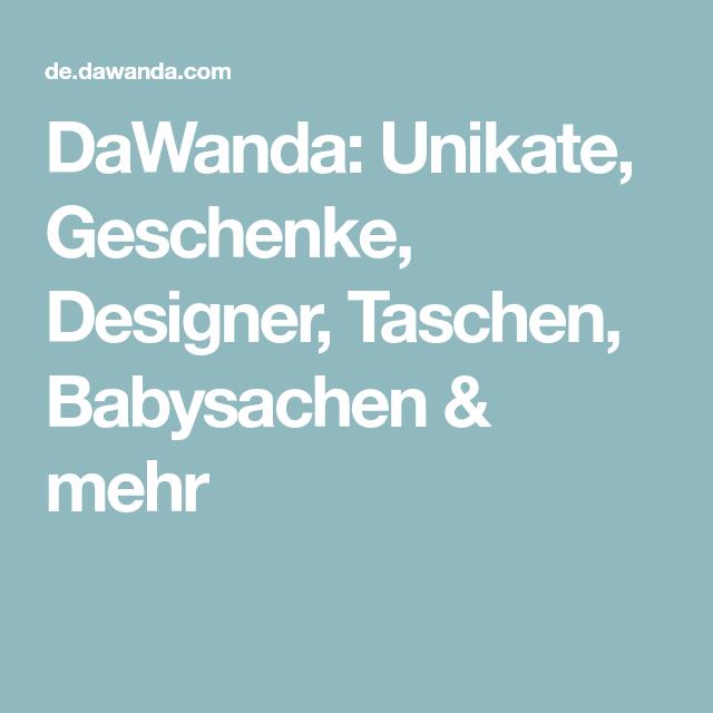 DaWanda: Unikate, Geschenke, Designer, Taschen, Babysachen & mehr