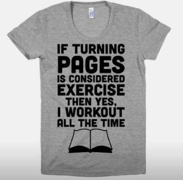 Best Selling Reading is My Cardio Funny Book Shirts for Women Librarian Gifts Book Worm Bibliophile Reading Graphic Tees Bookish