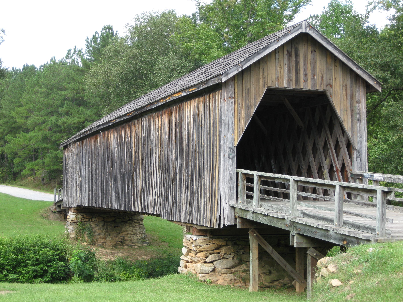Auchumpkee Creek Covered Bridge