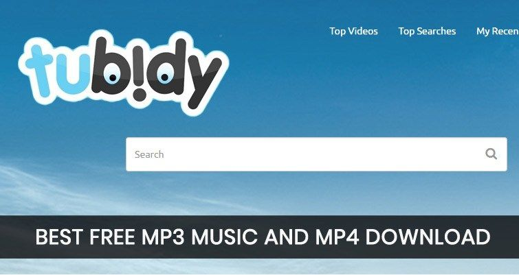 Tubidy Mobi Lets You Download Free Mp3 Music Mpgb For Mobile Phones