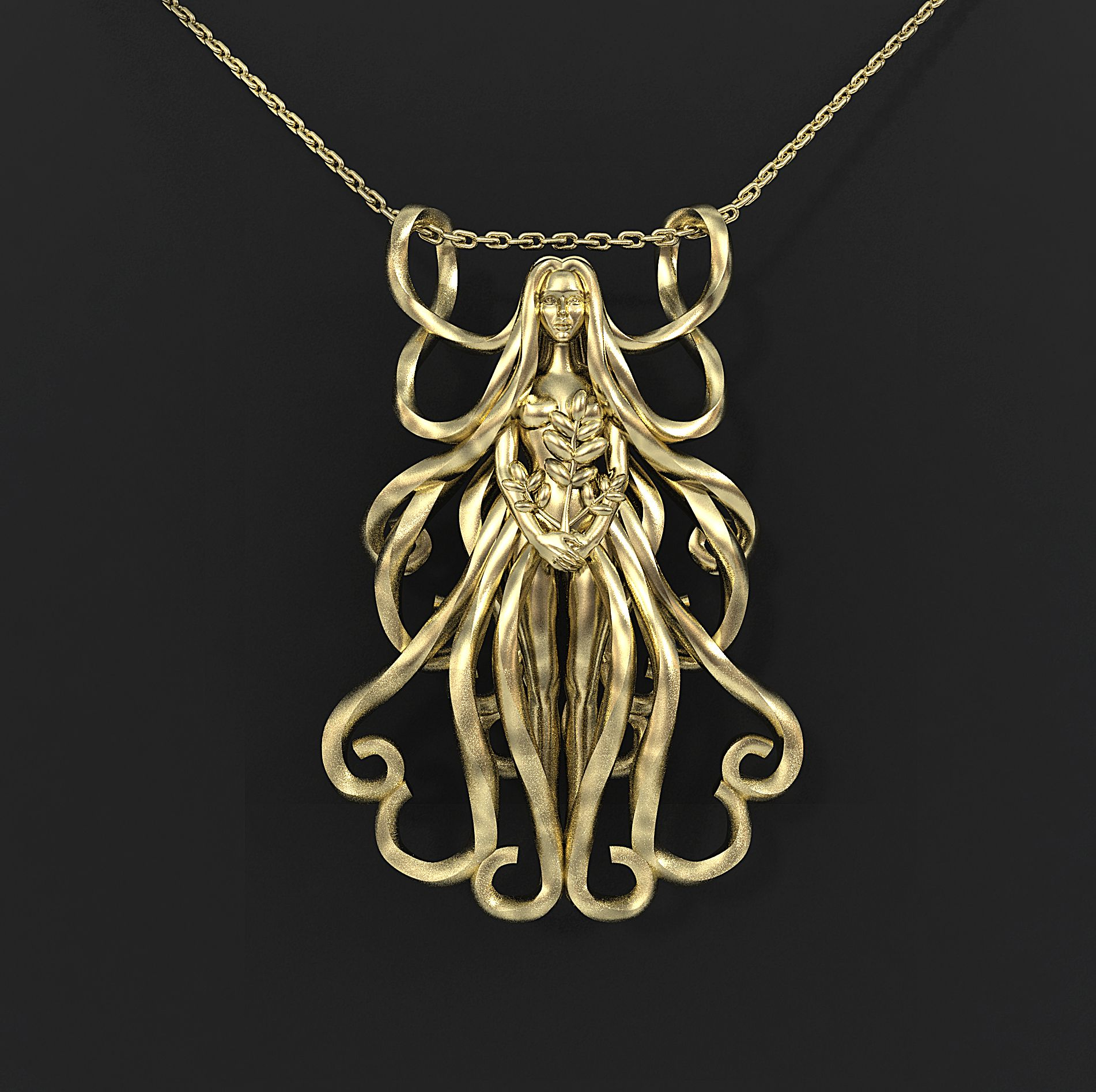 Other star signs available at Pinshape Virgo Zodiac Sign Pendant