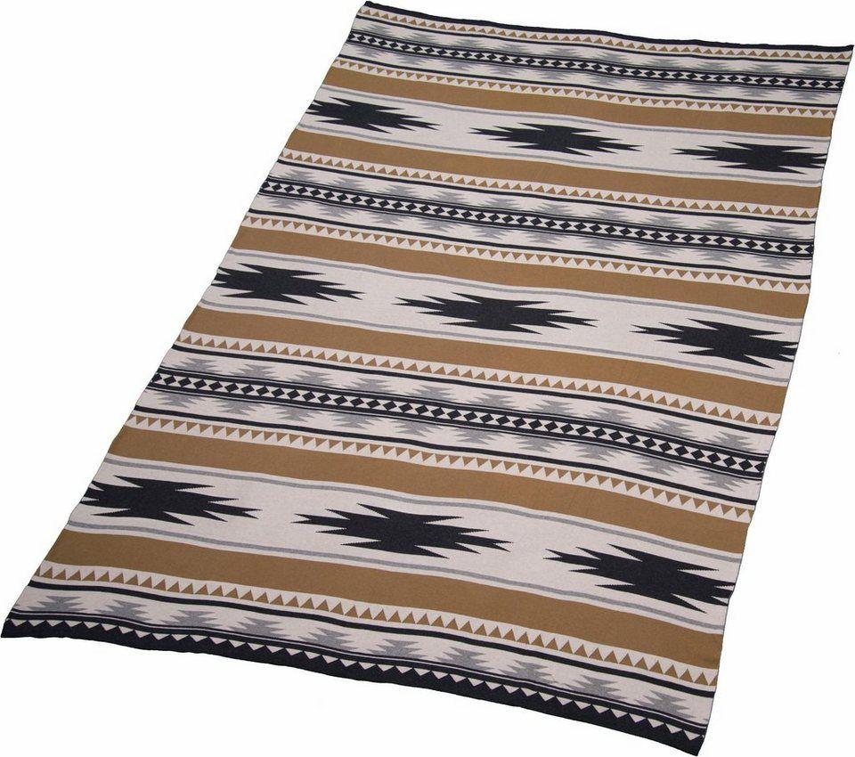 Wohndecke Tom Tailor Ethno Mit Inka Muster Wohndecke Deckchen Muster