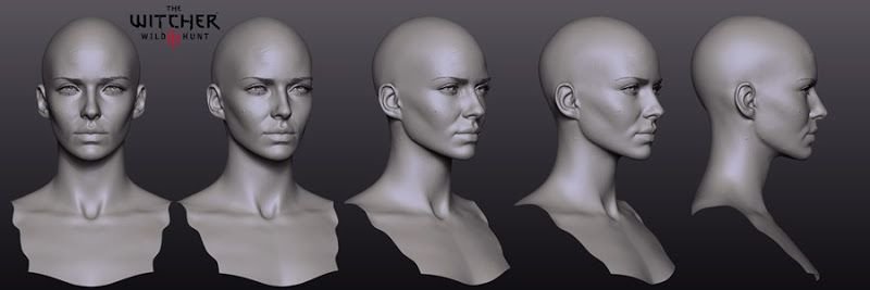model Ciri face