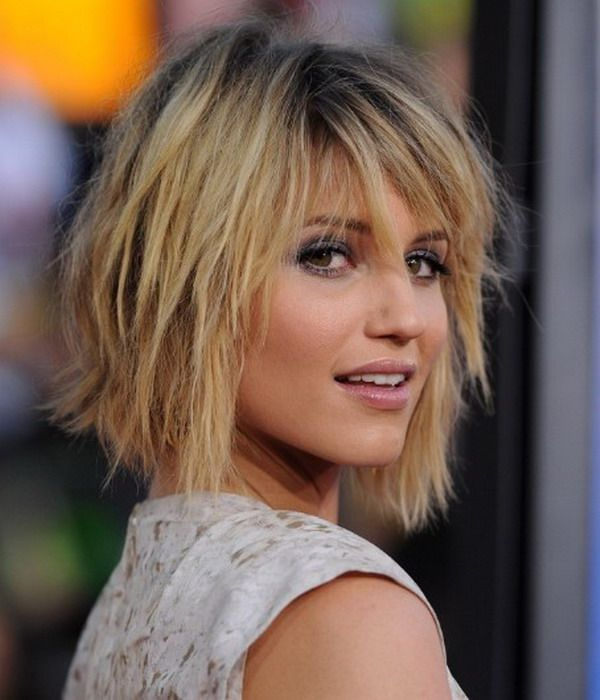 layered medium haircuts for round faces | hairstyles 17 for ...