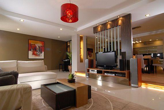 Wohnzimmer innenraum design ideen wohnung interior for Innenraum design