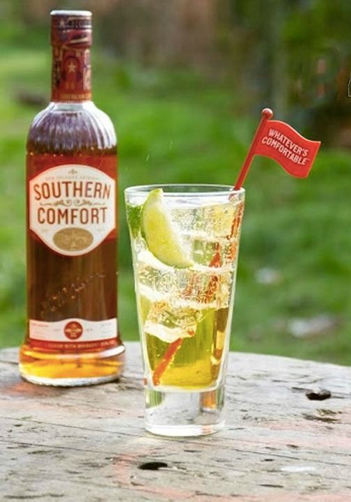 Gaze At The Wild Southern Comfort Cocktail In Its Natural Habitat