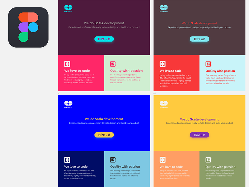 Figma 2 0 simply rocks! | Interfaces | Google fonts, Color, Rock