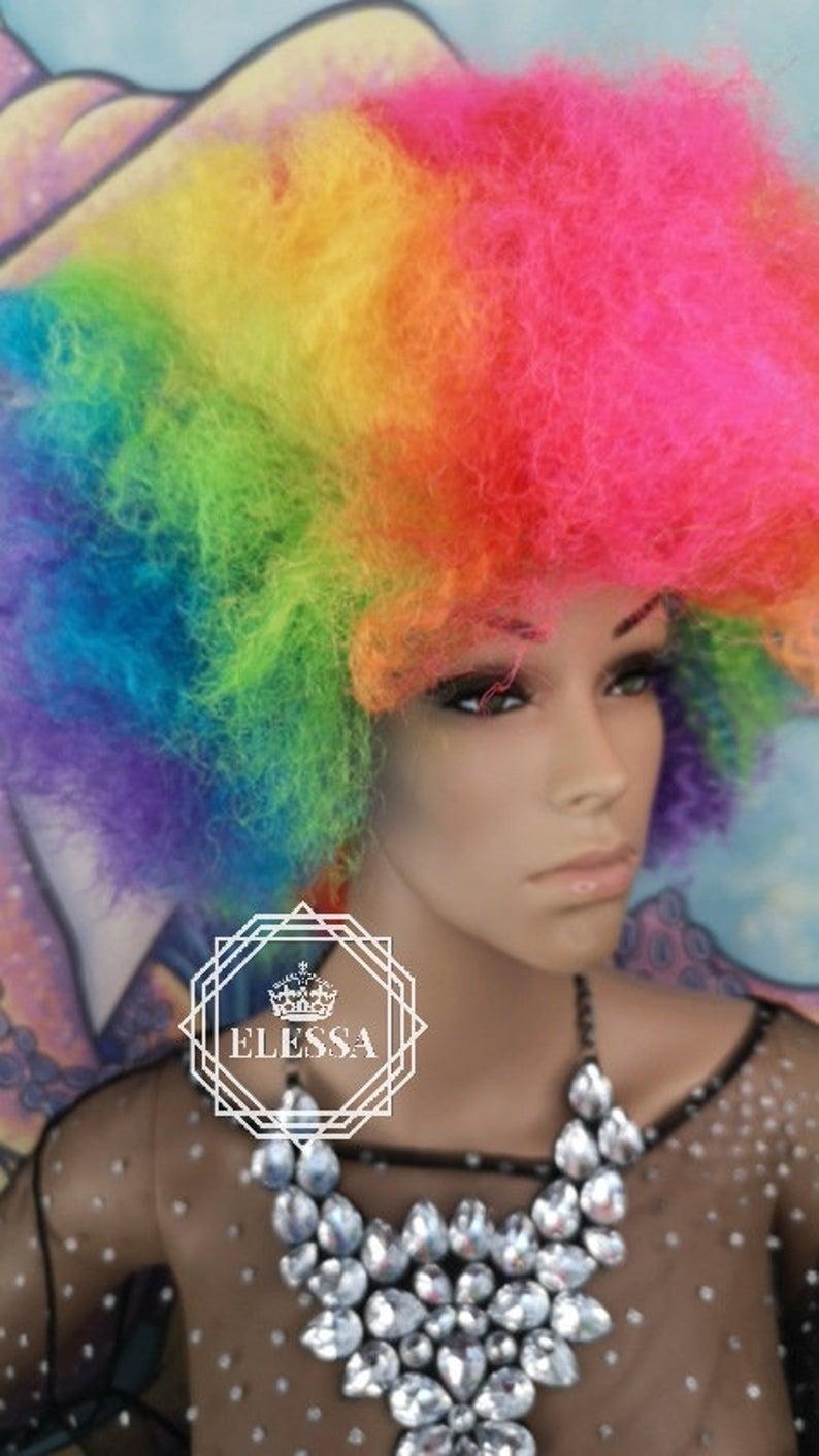 This Item Is Unavailable Etsy Big Volume Hair Volume Hair Clown Wig