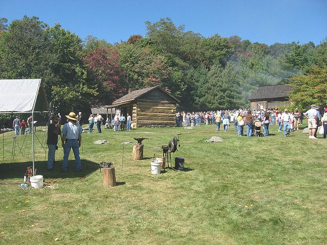 Have you ever smelled sorghum molasses cooking? Well here is your chance. Step back in time when you visit the Grayson Highlands Fall Festival on September 28-29, 2013! - http://www.virginiaoutdoors.com/article/more/4609