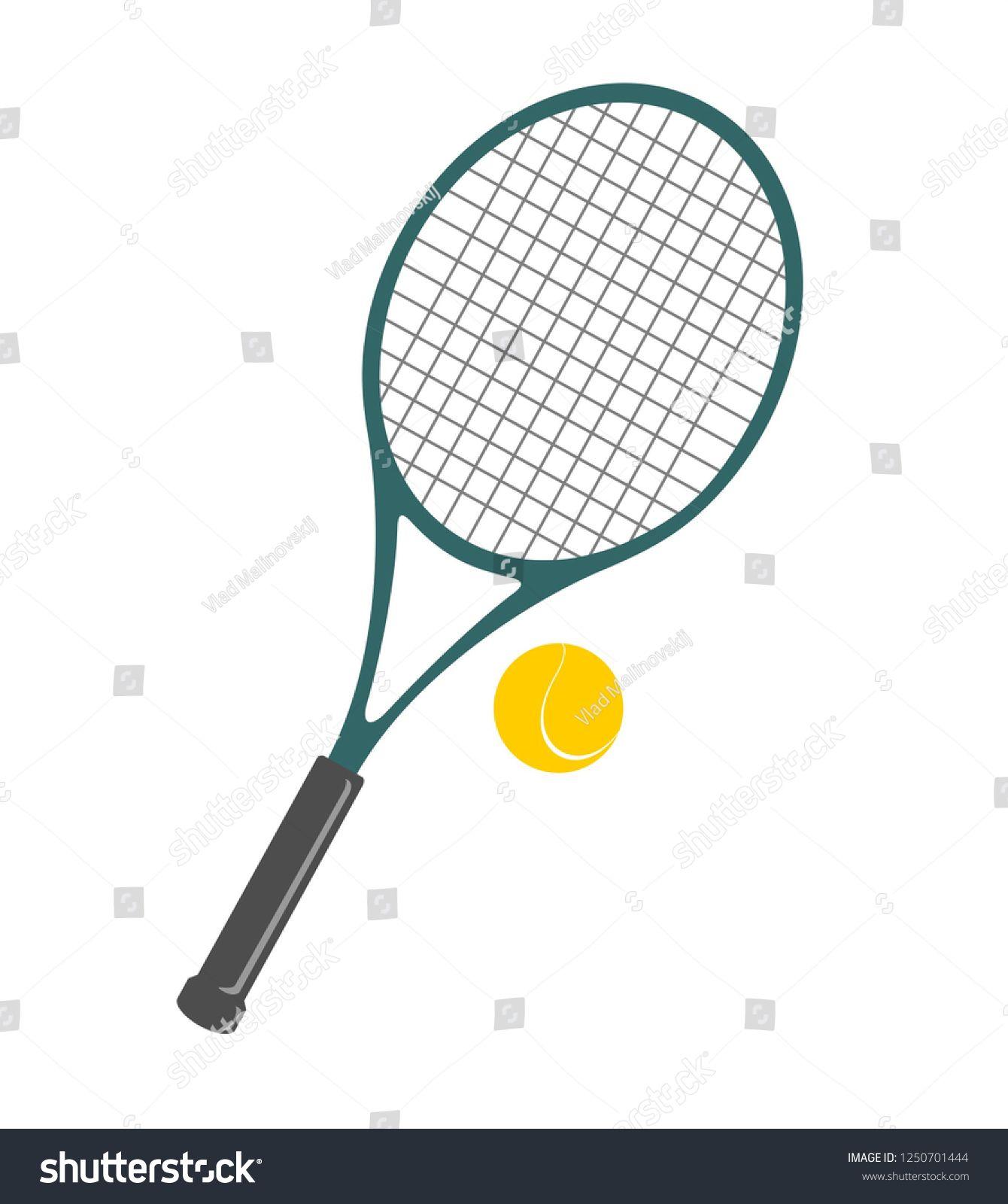 Tennis Ball And Racket Clip Art Ad Spon Ball Tennis Racket Art Tennis Racket Art Tennis Racket Tennis Ball