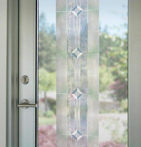 12x83 Translucent Etched Glass Decorative Window Film Vinyl Static Cling Films | eBay & 12x83 Translucent Etched Glass Decorative Window Film Vinyl Static ...