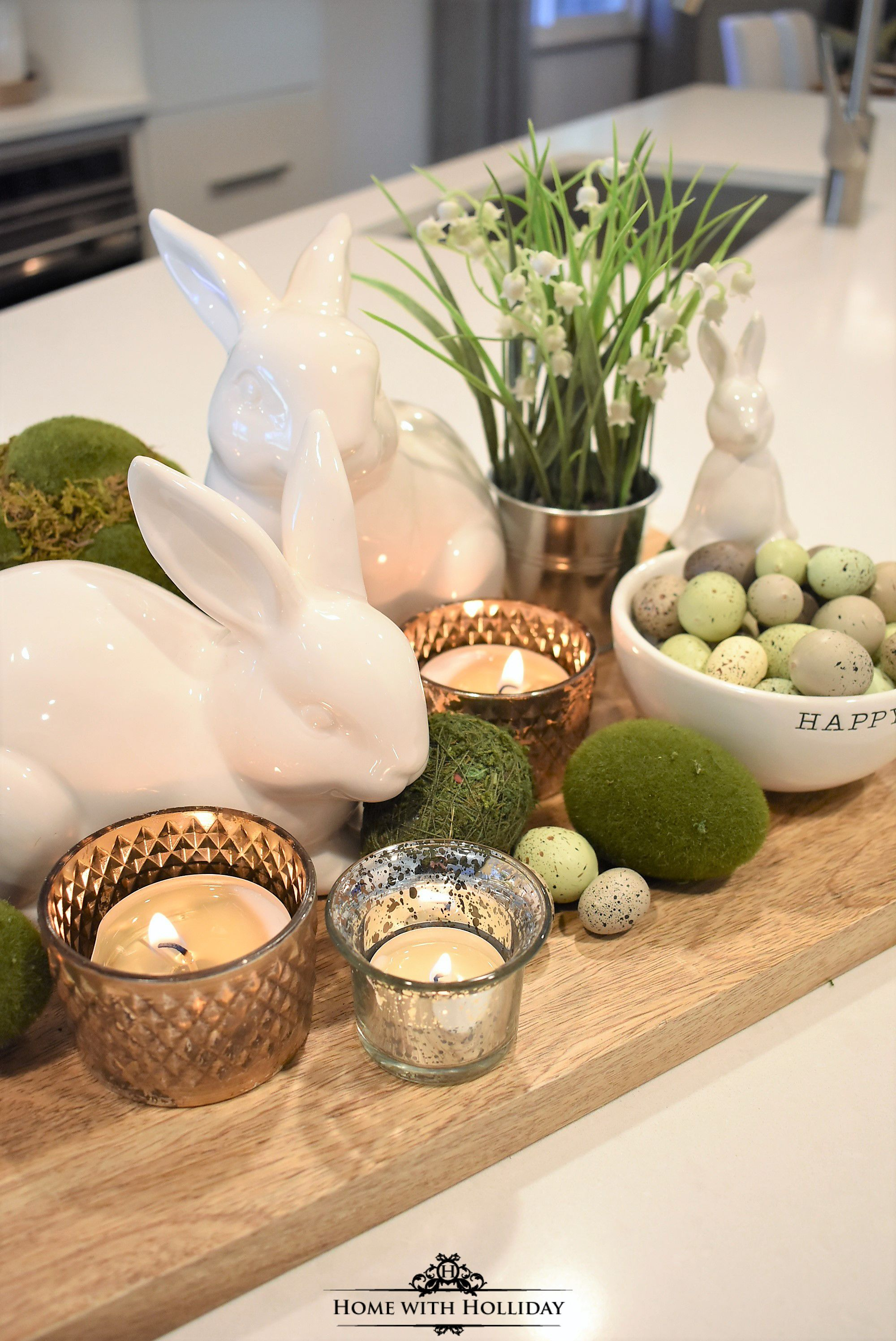 Living At Home Ostern Tips For Creating Simple Spring Or Easter Decor Ostern