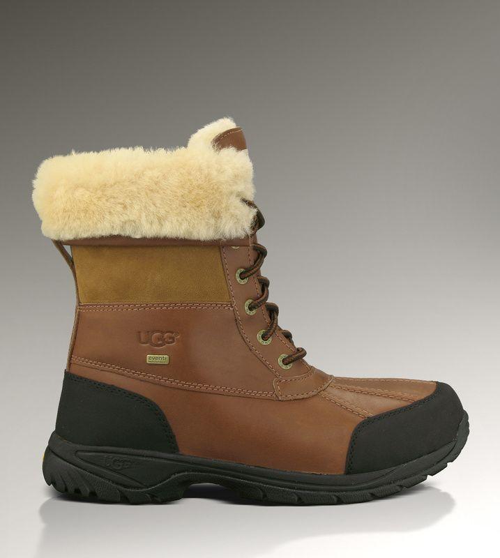 Mens UGG Butte 5521 Boots Chestnut