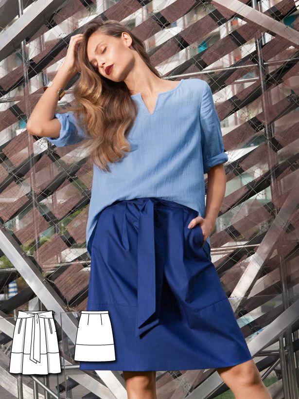Blue Crush: 11 New Women\'s Sewing Patterns | Pinterest | Nähen