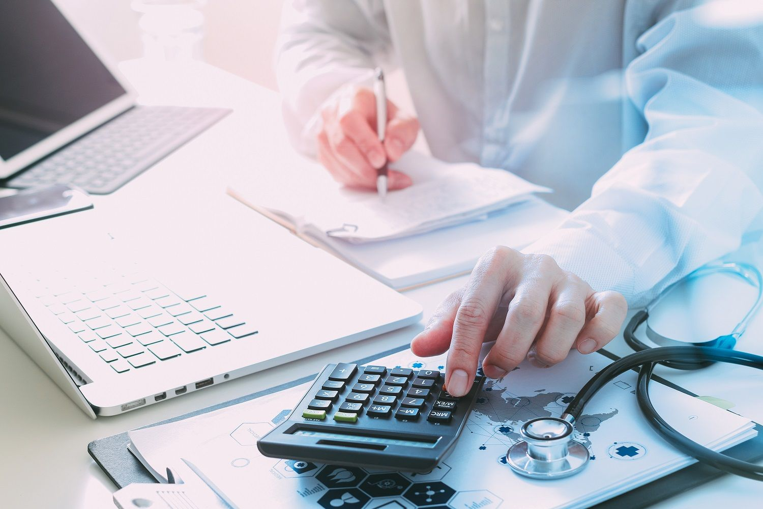 Revenue Cycle Management (RCM) software helps healthcare