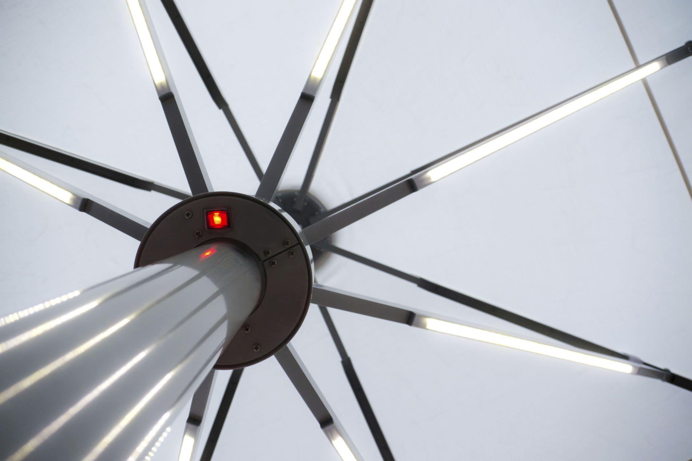 patio with lights lighting ideas umbrella of new