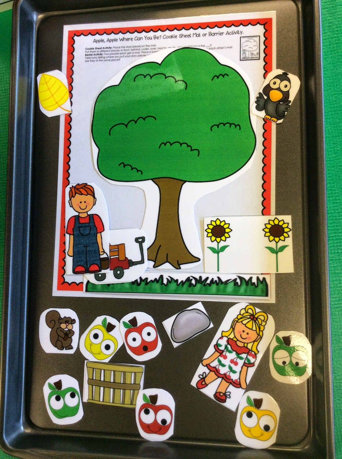 Apple Pickin Speech Therapy And A Freebie