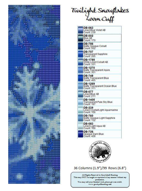 http://goodquillhunting.com/files/Twilight_Snowflakes-Loom_4_web.jpg