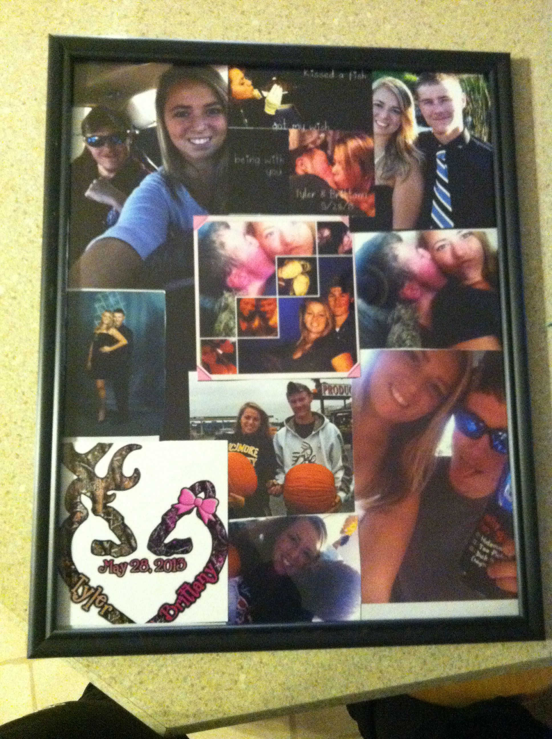 craft boyfriend it only cost 4 one dollar for frame from dollar tree
