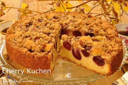 cherry kuchen recipe thebakingpan how to make cherry