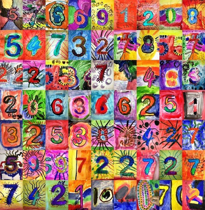 Taidetta numeroilla