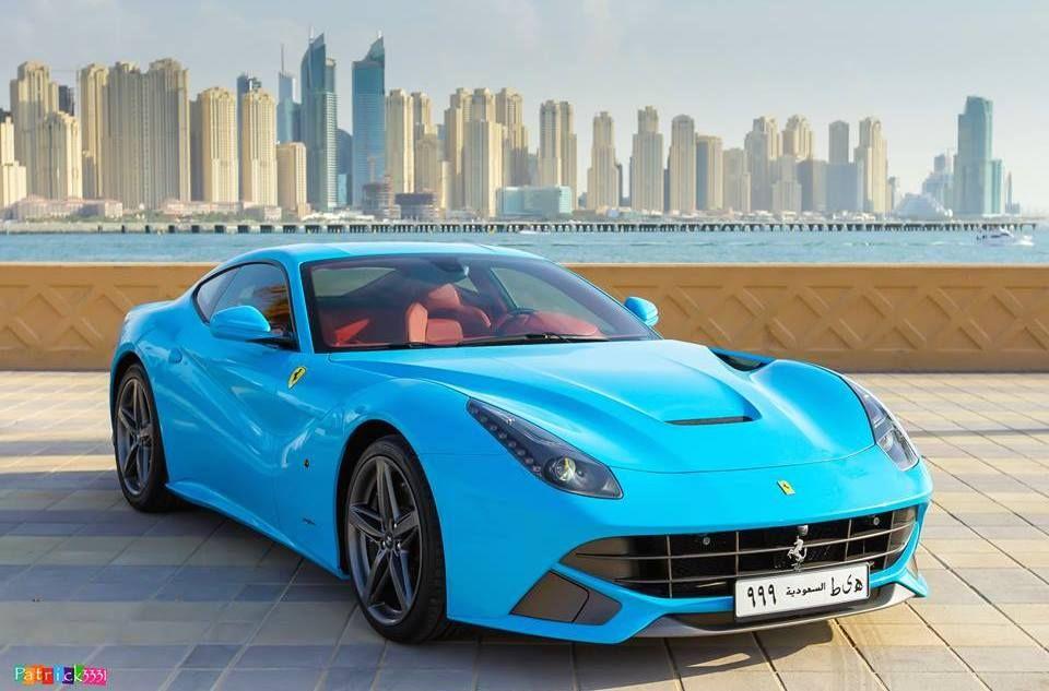 Gallery Baby Blue Ferrari F12 In Dubai Motorward Ferrari F12 Ferrari Baby Blue