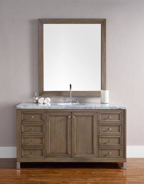 "Bathroom Sinks Chicago chicago 60"", james martin white washed walnut transitional"