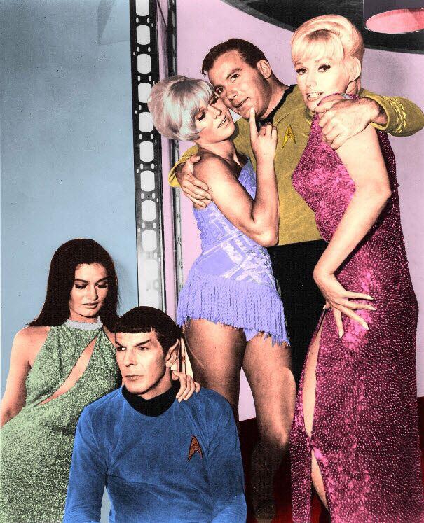 Star trek actors image by Douglas May on SciFi Stuff