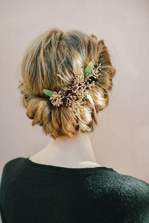 Peinados para bodas para todo tipo de cabello Recogidos bajos