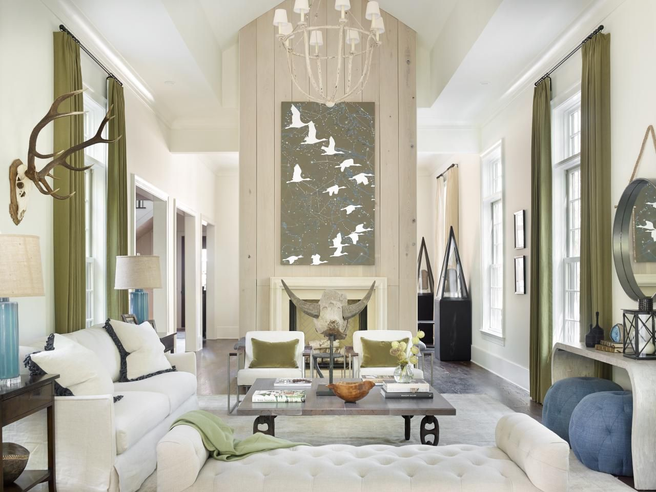 Hgtv Designs For Living Room Mesmerizing 6 Oversized Art Pieces That Prove Bigger Can Be Better  Nature Review